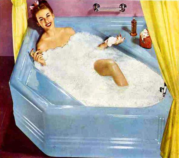 Cinderella tub advertisement