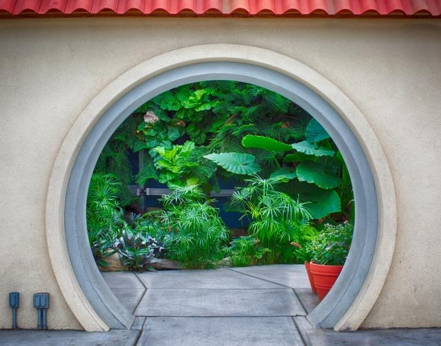A greenhouse beckons