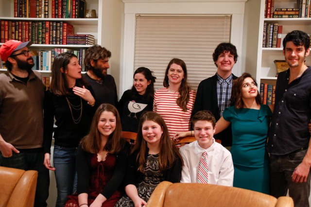 More controlled chaos: cousins and friends on Christmas Eve